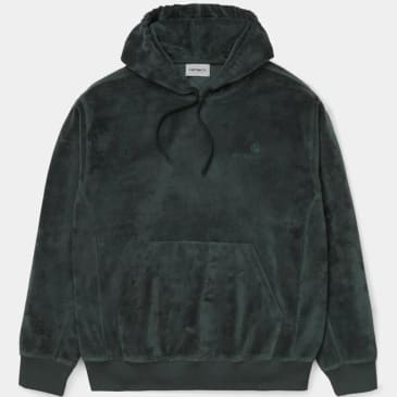 Carhartt WIP Hooded United Script Sweatshirt - Dark Teal