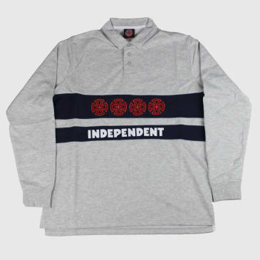 Independent Truck Co. Crosses Polo Crew Athletic Heather/Navy
