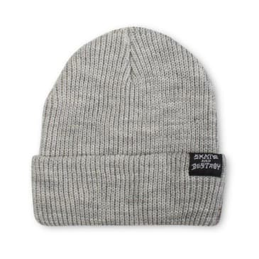 THRASHER Skategoat/Skate and Destroy Beanie Grey