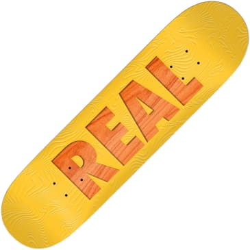 """Real Bold Team series deck (8.06"""", yellow)"""