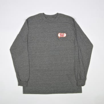 Welcome Skate Store - Freak Out Longsleeve T-Shirt - Graphite Heather