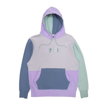 Rip N Dip Colour Block Logo Hoodie - Multicolour