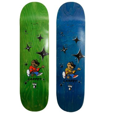 Carpet Company Kindergarten Skateboard Deck - 8""