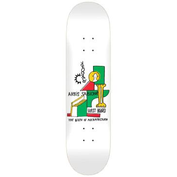 "Krooked Alexis Sablone Guest Skateboard Deck - 8.5"""