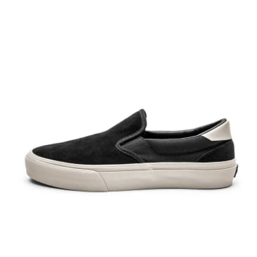 Straye Ventura Shoes - Black Bone Suede
