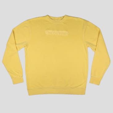"PASS~PORT ""ICY HOT"" PUFF SWEATER YELLOW"