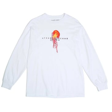 Atlantic Drift MOCKBA Jelly Long Sleeve T-Shirt - White