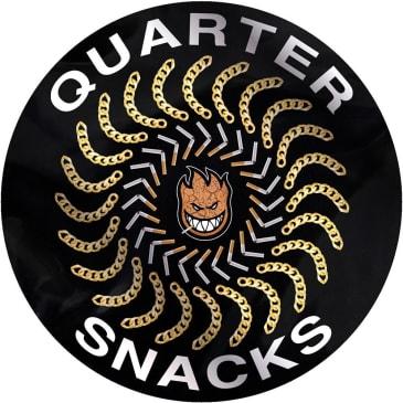 Spitfire x Quartersnacks Quater Classic Sticker Medium