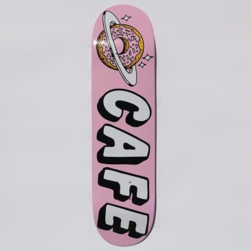 Skateboard Cafe Planet Donut Skateboard Deck Pink - 8.25""