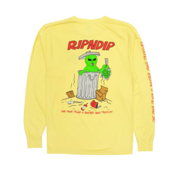 Ripndip - Trash & Treasure Longsleeve (Banana)