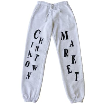 CHINATOWN MARKET -ATELIER SWEAT PANTS - (ATHLETIC HEATHER)