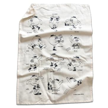 Blast Tea Towel