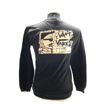 Vans X Hockey Black Long Sleeve Andrew Allen Shirt
