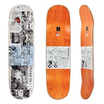 "Polar Skate Co Ron Chatman Model T Skateboard Deck - 8.5"" P2 Special Shape"