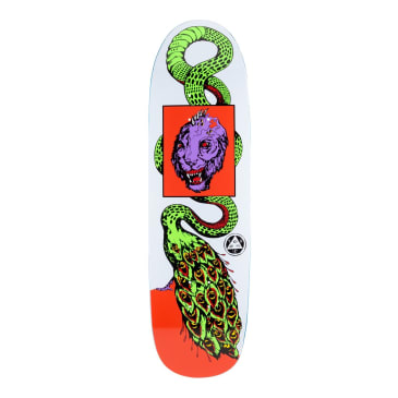 Welcome Skateboards Glam Dragon on Atheme Skateboard Deck White - 8.8""