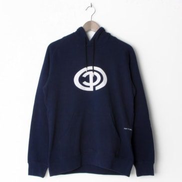 Pop Trading Company Way Hooded Sweat Navy