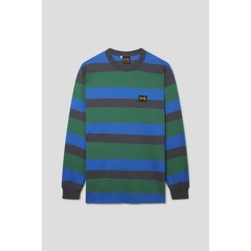 Stan Ray - LS Football Tee (Indian Green Stripe)