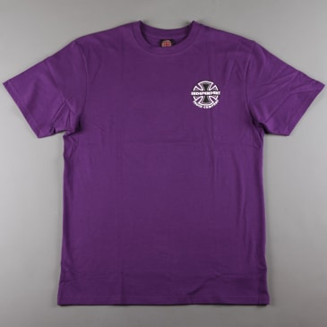 Independent 'ITC Bauhaus' T-Shirt (Deep Purple)