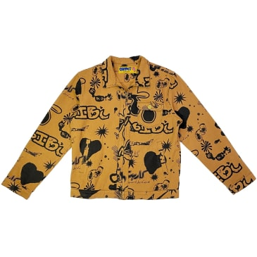 Carpet Silly Boy Full Print Work Jacket