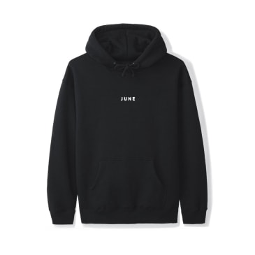 June - PUFF! Youth Hoodie - Black, White