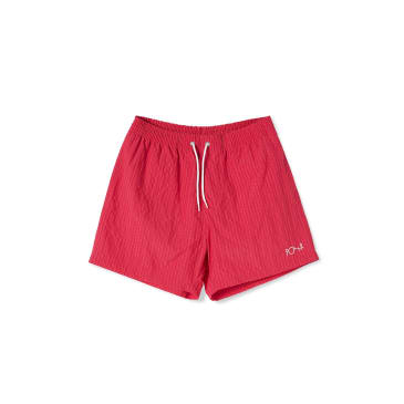Polar Skate Co Seersucker Swim Shorts - Berry