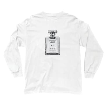 The Quiet Life Paris Long Sleeve T-Shirt - White