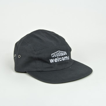 Welcome Skate Store - Arch 5-Panel Cap - Grey