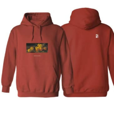 Poetic Collective Still Life Hoodie Maroon