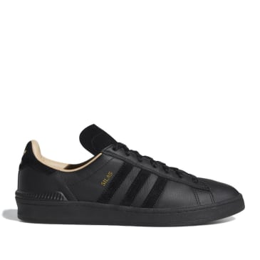adidas Skateboarding Campus ADV Silas Baxter-Neal Shoes - Core Black / Core Black / St Pale Nude