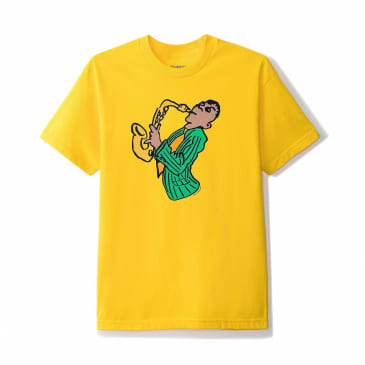 Butter Goods Sax T-Shirt - Yellow