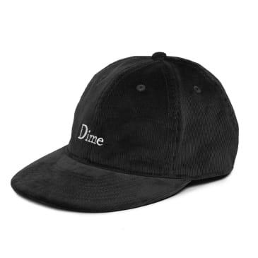 Dime Classic Logo Corduroy Cap - Black