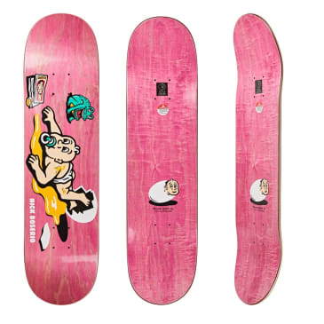 Polar Skate Co Nick Boserio Cleo Skateboard Deck - 8""