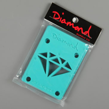 "Diamond 1/8"" Riser Pads (Diamond Blue)"