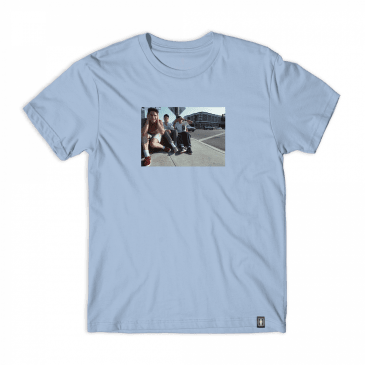 Girl Skateboards x Beastie Boys Spike Jonze T-Shirt - Powder Blue