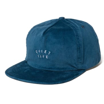 The Quiet Life Cord Relaxed Snapback Hat - Blue