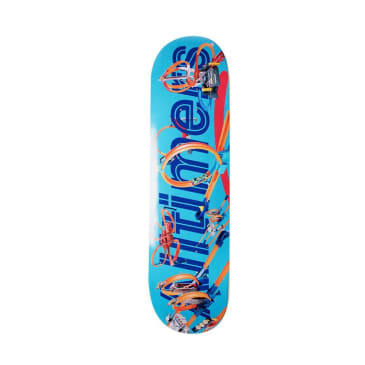 Alltimers Tracks Logo Skateboard Deck - 8.5""