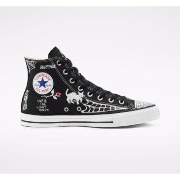 Converse Cons Sean Pablo CTAS Pro High Top Skateboarding Shoe - Black / White / White
