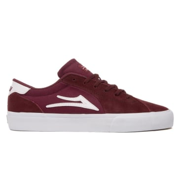 Lakai Flaco 2 Suede Skate Shoes - Burgundy
