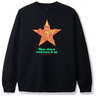 Butter Goods Turn It Up Sweatshirt - Black