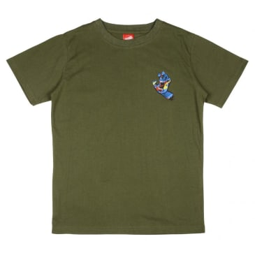 Santa Cruz Primary Hand Youth T-Shirt - Olive