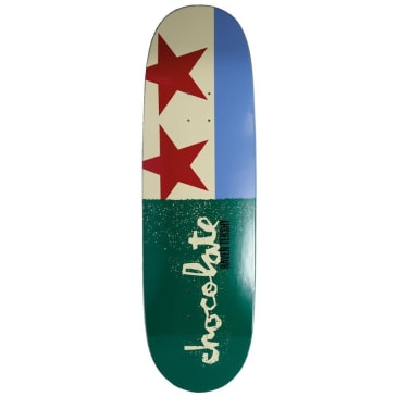 "Chocolate Skateboards - Raven Tershy Giant Flags Deck 9.25"" Wide"