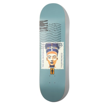 Girl Pacheco Postal Series Skateboard Deck 8.375""