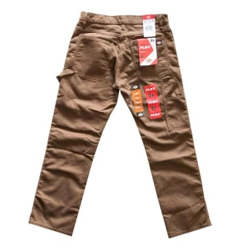Dickies Flex Carpenter Pants with Tough Max - Timber Brown