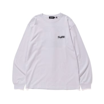 "X-LARGE - ""XLARGExD*FACE D*DOG LONG SLEEVE T-SHIRT"" (WHITE)"