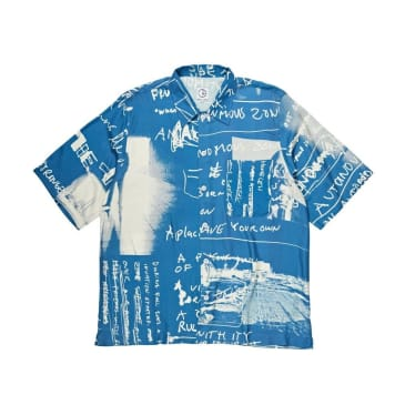 Polar Skate Co Strongest Notes Art Shirt - Blue