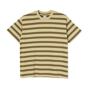 Polar Skate Co Stripe T-Shirt - Sand
