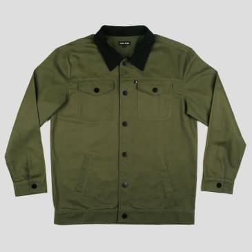 """PASS~PORT """"WORKERS"""" LATE JACKET DARK GREEN"""