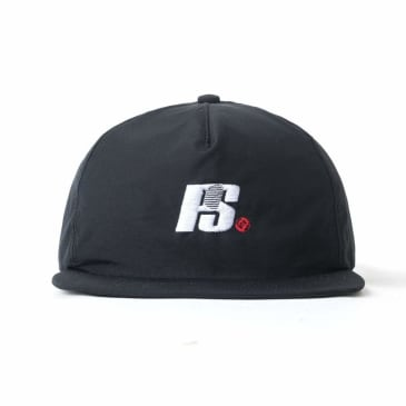 Powers Logo 6-Panel - Black
