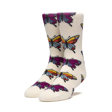 Huf Papillion Sock unbleached one-size