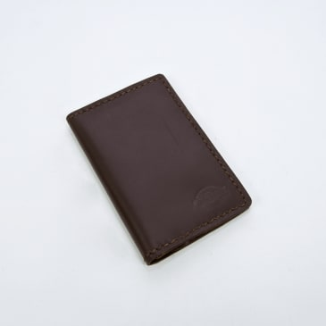 Dickies - Elkton Leather Passport Holder - Dark Brown